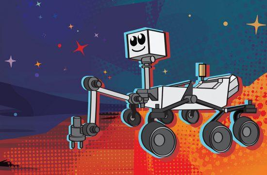 Un sondage pour choisir le nom du rover Mars 2020