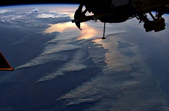 Les incendies en Australie observés depuis l'espace