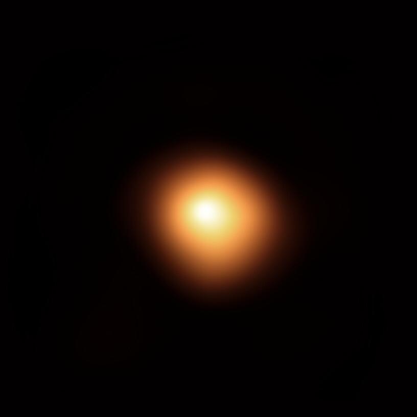 Image de Bételgeuse acquise par SPHERE en janvier 2019