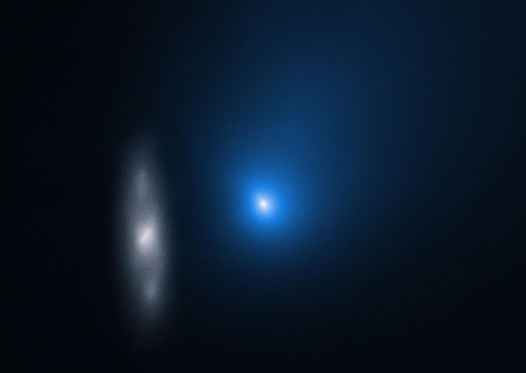 Analyses de données collectées sur la comète interstellaire Borisov