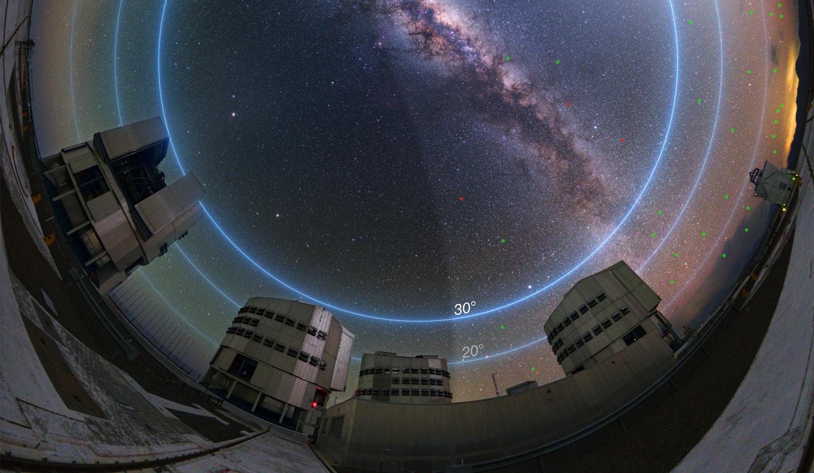 L'impact des méga-constellations de satellites sur l'astronomie