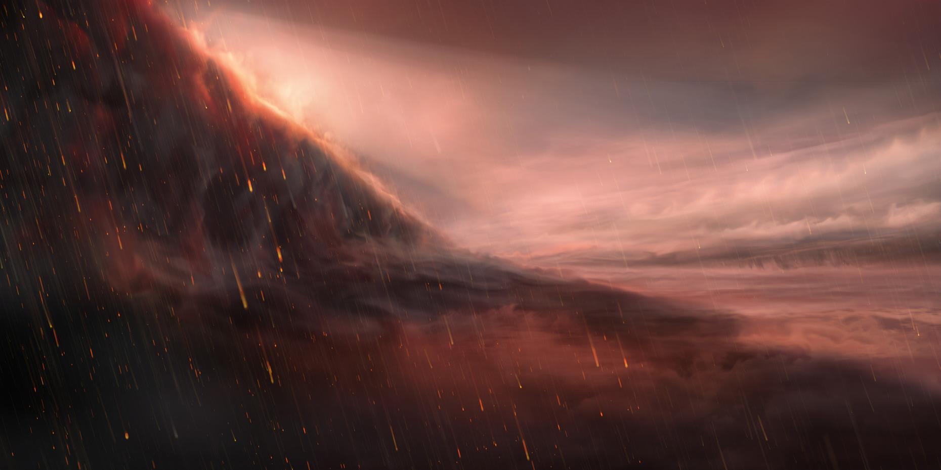 Un télescope de l'ESO observe une pluie de fer tomber à la surface d'une exoplanète