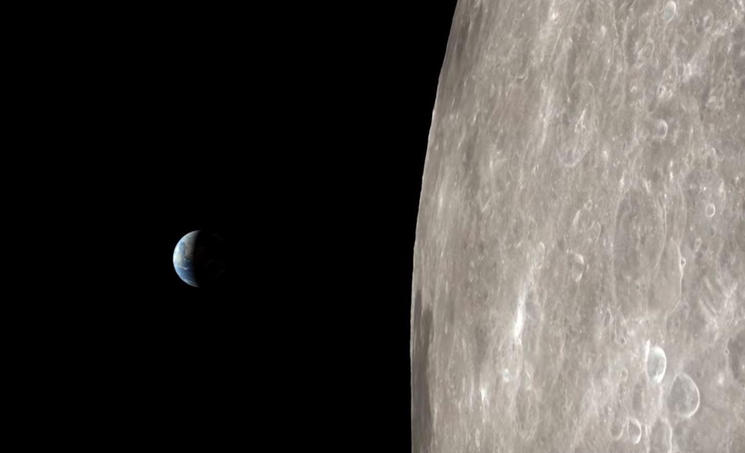 Le voyage d'Apollo 13 reconstitué en 4K avec les images de LRO