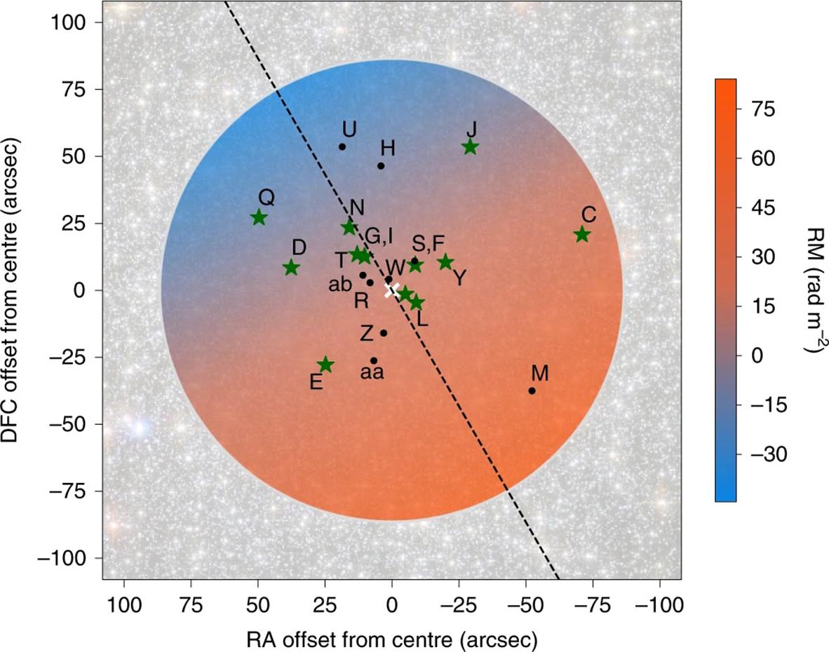 Le champ magnétique de la Voie Lactée révélé par des pulsars du halo