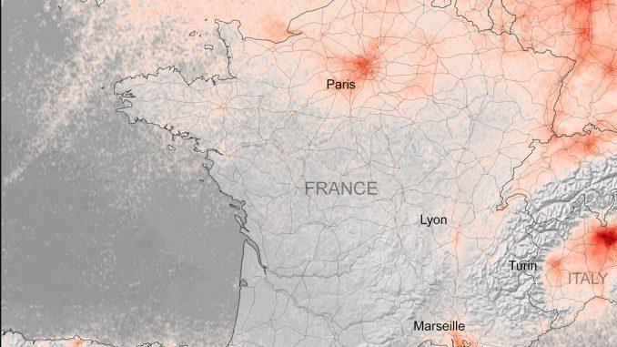 Le confinement lié au coronavirus entraîne une chute de la pollution