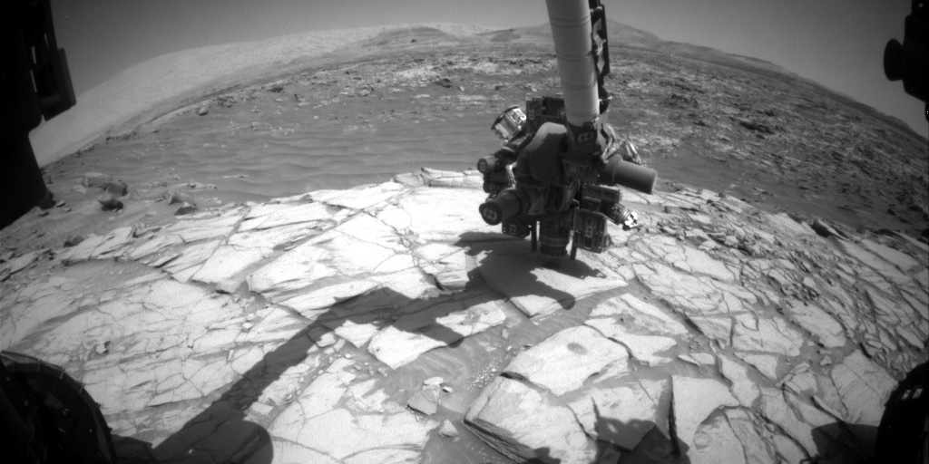 Le bras robotique de Curiosity