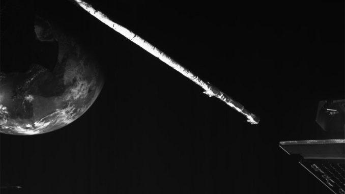 La sonde BepiColombo a survolé la Terre et se dirige vers Mercure