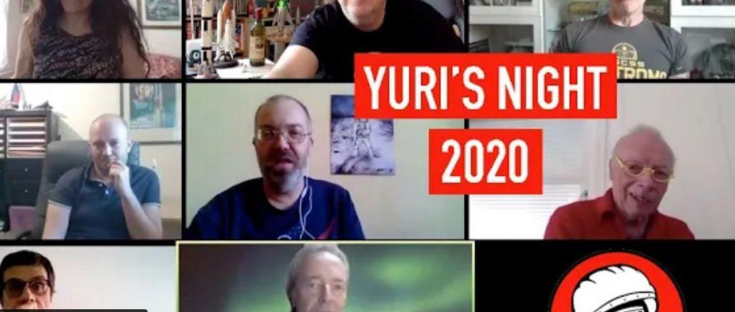 Suivez la Yuri's Night 2020 en vidéo