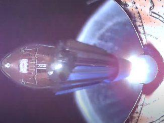 Le déploiement de la coiffe du Falcon 9