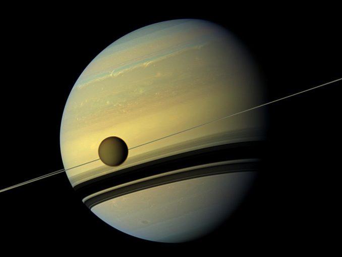 La lune de Saturne Titan