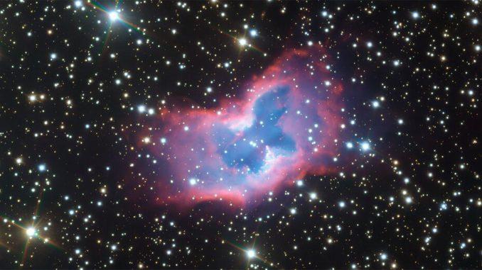 Un étonnant papillon cosmique photographié par un télescope de l'ESO