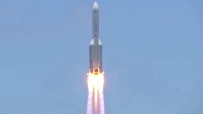 La Chine en route vers Mars avec la mission Tianwen-1
