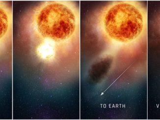 La baisse de luminosité de Bételgeuse expliquée (Podcast)