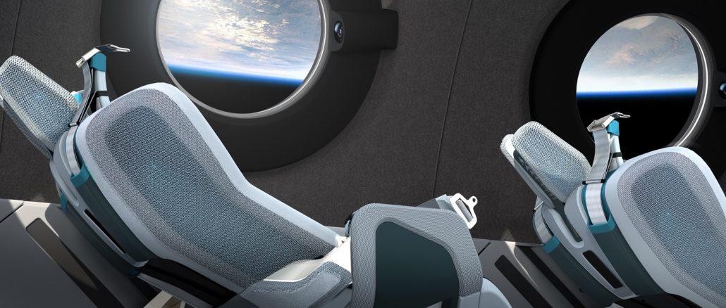 Virgin Galactic dévoile le magnifique intérieur du SpaceShipTwo