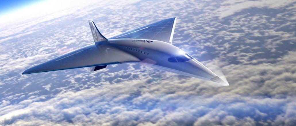 Virgin Galactic veut développer un avion supersonique