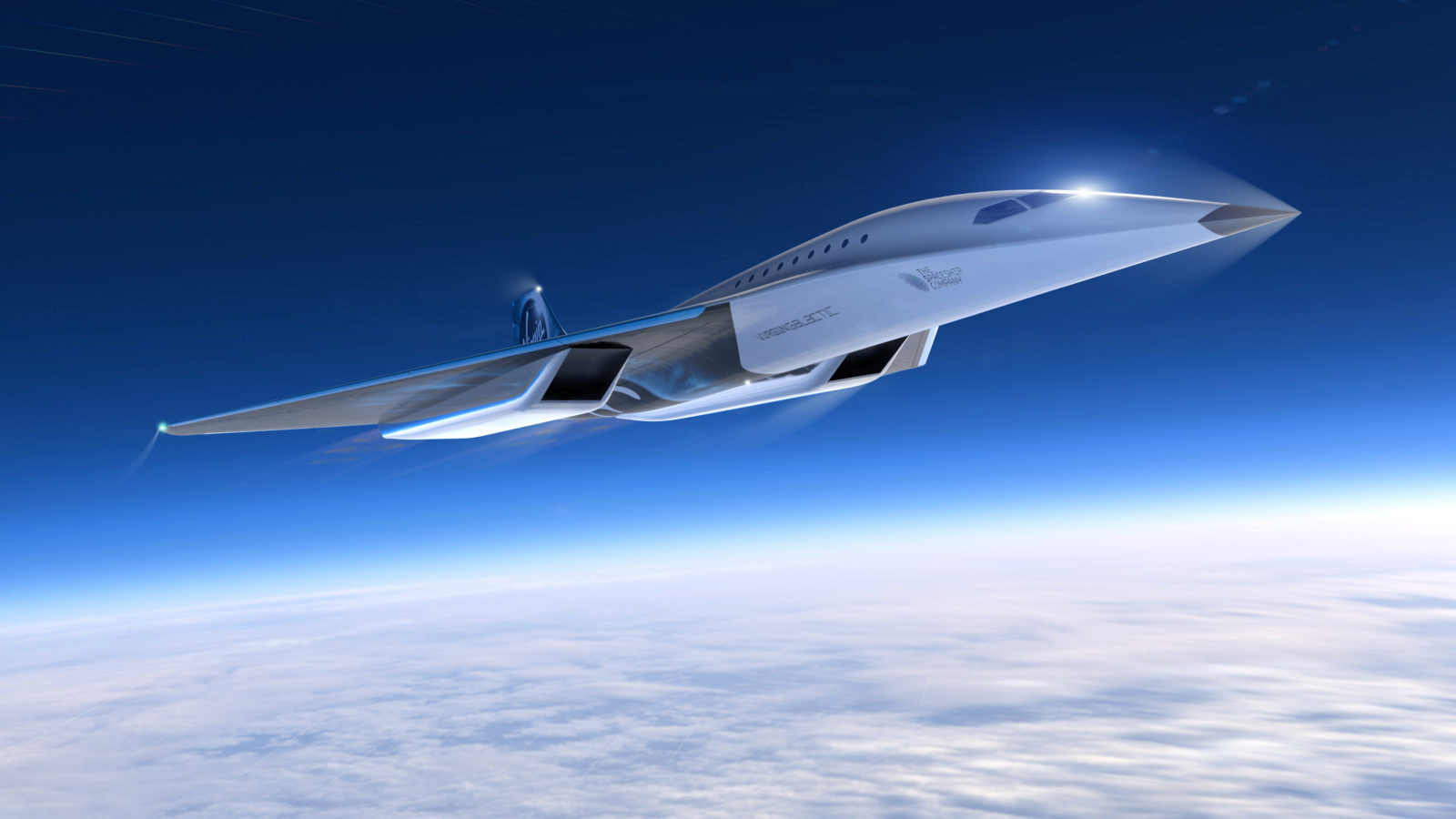 L'avion supersonique de Virgin Galactic