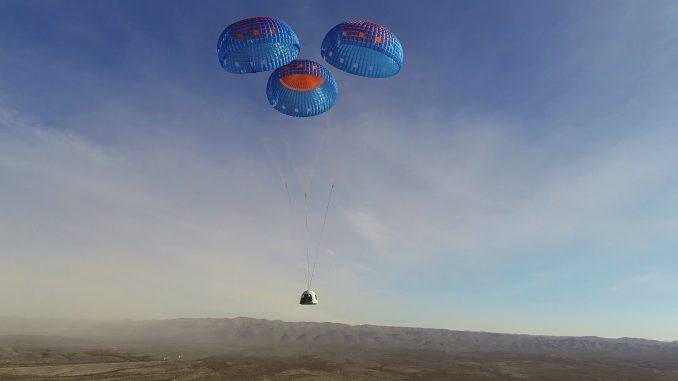 Le New Shepard de Blue Origin se prépare à recevoir des passagers