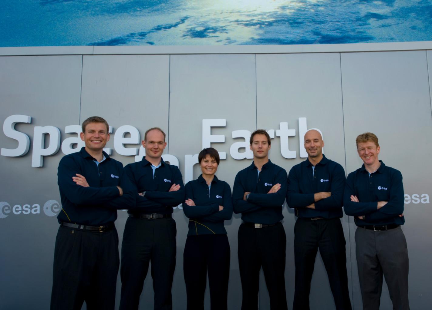 Les astronautes de la promotion 2008