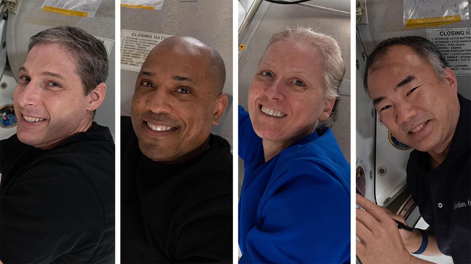 L'équipage du Crew-1
