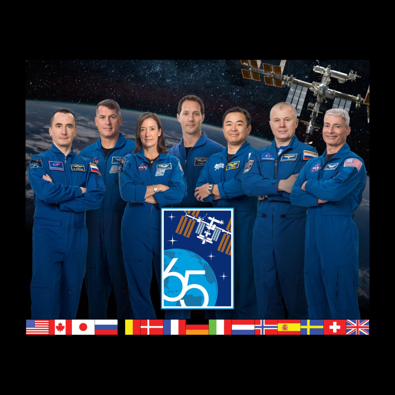 Portrait de l'Expedition 65
