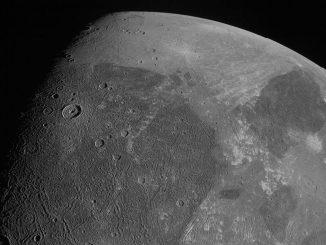 La sonde Juno réalise de nouvelles images de Ganymède