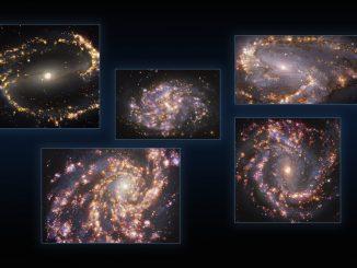 Feu d'artifice galactique