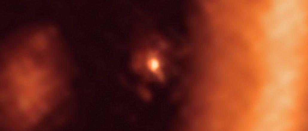 Première observation de la formation de lunes autour d'une exoplanète
