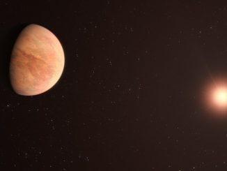 Une exoplanète rocheuse dont la masse est la moitié de celle de Vénus (ESO)